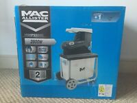 Mac Allister 2800W Garden Shredder - Brand New - RRP £151