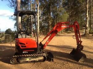 Excavator Kubota U17 Gympie Gympie Area Preview