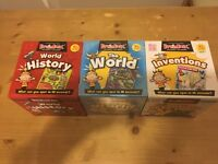 Three sets of brain box
