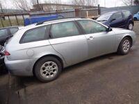 BREAKING -- Alfa Romeo 156 Tursimo JTD 1.9L Diesel Estate 115 BHP ----- 2004