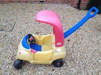 child's outdoor ride-on car