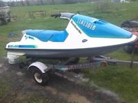 587 seadoo gt twin carb 3 seater with reverse