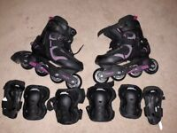 Inline Skates Oxelo Active Fit 3 SIZE 5 UK