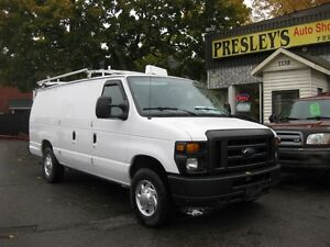 2010 Ford E-250 Commercial, extended, 5 passenger, remote start,