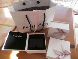3 Empty Pandora Boxes - various sizes