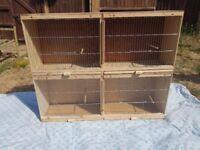 Bird breeding cages £40 the pair
