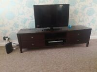 Ikea Chocolate brown TV unit only £10