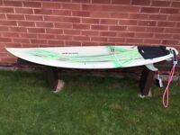 "SURF BOARD ... ""jools"" GULF STREAM ... TORQUAY ..."