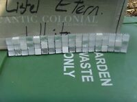 £1.50 each glass stone mosaic border from Porcelanosa! size 300mm x 47mm x 8mm