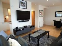 2 Bed Executive Glasgow Harbour with 1 secure parking space