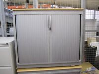 Lockable office storage cabinet