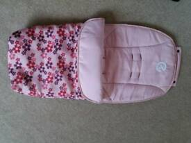 Girl foot muff ( oyster)