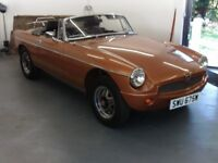MG mgb LE roadster 1980