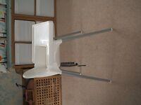 White IKEA Antilop High Chair