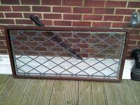 Mahogany uPVC window £60