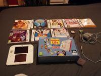 Nintendo 2ds console plus 11 games