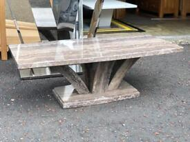 Ex-display**Lovely marble coffee table