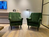 Beautiful Vintage Mid-Century Armchair (Pair)
