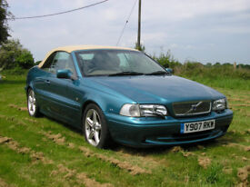 Volvo C70 Cabriolet, 2001, only 58600 miles, NOT BMW, Audi, Ford