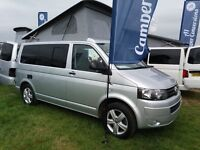 VW Transporter Camper Conversion with Air conditioning AND 6 SEATS