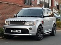 *COSWORTH EDITION* RANGE ROVER SPORT TDV6 HSE * + 2005/55 + PROJECT KHAN BLACK LABEL + EVERY EXTRA +