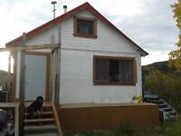 Dawson City 20'x24' White Cabin for Sale