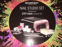 Silver crest gel nail starter set