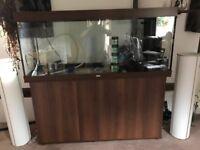 Juwel Rio 400 Aquarium fish tank and cabinet