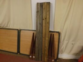4 Posts and Spikes £30