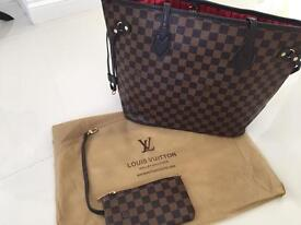 Louis Vuitton Neverfull Bag with Dustbag