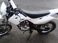 motorbike white knuckle 125cc