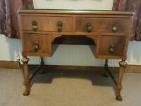 Antique study or dressing table