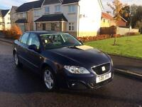 Seat exeo very low mileage and cheapest for 2011