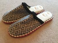 Ladies Next slip on Slippers size Large / 7 - 8 NEW