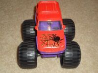 Monster 4 x 4 Truck with image of spider on bonnet. As new - immaculate