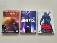 3 New/Sealed DVDs for sale. All 3 for only £10