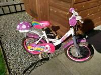 """Apollo pixie 14"""" wheel bike girls"""