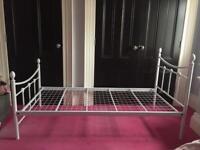 Nice metal single bed frame.