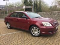 TOYOTA AVENSIS 1.8 PARTOL DRIVES GOOD FIRST TO SEE WILL BUY!!!