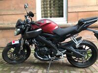 Yamaha MT 125 -2015 low mileage