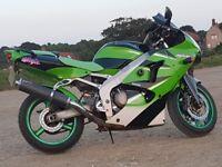 Kawasaki zx6r J1