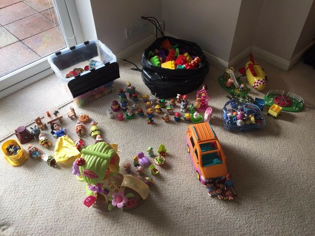 Various girls toys