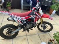 M2r 1600cc pit bike