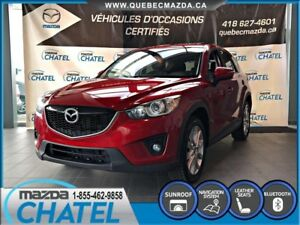 2015 Mazda CX-5 GT AWD -CUIR - TOIT OUVRANT - SIEGES CHAUFFANTS