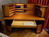 Scandinavian 'Desk in a Box'