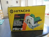 Hitachi PSU-9 235mm circular saw