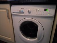 Zanussi 7 kg washing machine , 1600 rpm, year old , vgc , as new , digital display etc