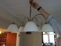 5 Piece Hanging Light