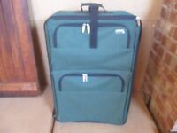 large green suit case for sale brand new