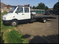 1997 Iveco daily crewcab recovery truck
